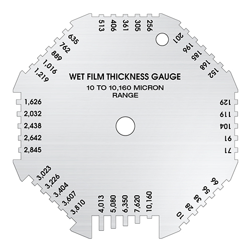 Gardco :: Octagon Wet Film Thickness Gauge