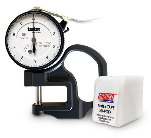 Gardco :: Press-O-Film Surface Profile Gage